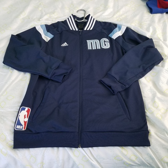 the latest a0497 3ce5b adidas Other - Mens Memphis Grizzlies adidas NBA on court jacket
